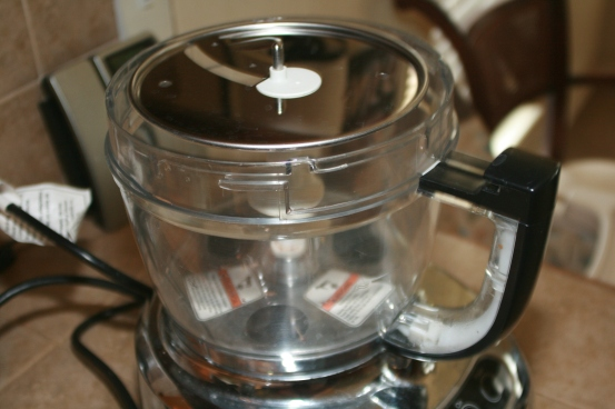 Slicing Attachment on Food Processor